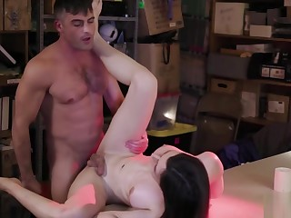 Egregious ts Korra Del Rio takes a studs dick from behind