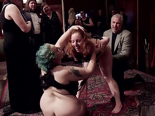 Aggravation to mouth bdsm orgy party