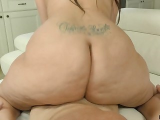 That's a couch breaking hindquarters and Alycia Starr knows how in the world to ride a dick