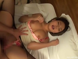 JAV featuring a cute minx who lets her lover fully get his way