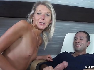 Jenny is a mature, blonde cock- sucker, who is always in the mood for anal sex