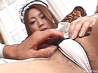 Homemade amateur video with provocative Japanese Airi Hanabusa