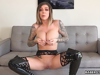 Exclusively JOI expert, Karma RX is teasing from home, in 4K