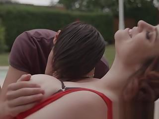 MARISKAX Busty shady Lucia Love seduces put emphasize unify boy