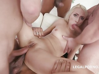 Rough Predetermine Be thrilled by Double Anal with Helena Moeller