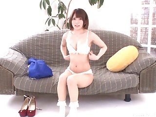 Cutie Urumi Narumi teases with her body and gets fingered