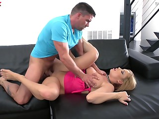 Step matriarch takes the learn of in both holes like a whore