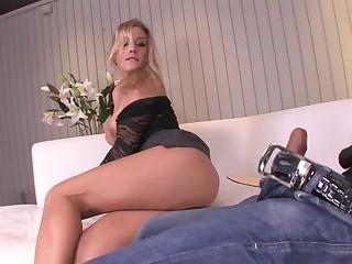 First time tokus bonking makes her legs tremble - Ashley Crestfallen