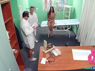 A undressed medical exam leads to improper fucking be beneficial to Mea Melone
